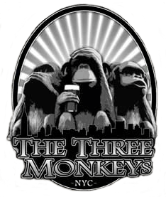 monkeyslogo.min Beer Menu | Craft Beer in Hell's Kitchen - The Three Monkeys